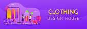 Fashion house web banner concept