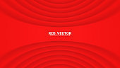 3D Vector Red Luxury Gala Ceremonial Elegant Abstract Background