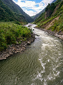 Pastaza River Near Baños
