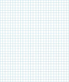 Grid blocks graph paper. Vector illustration line of notebook for use as background