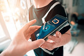 Wireless charging of smart phone with the help of another mobile phone