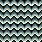 Seamless bright abstract pattern. Geometric zig zag print composed of zigzag lines green, gray colors.