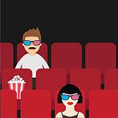 요즘 영화관 풍경