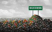 Business Success Motivation