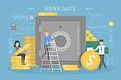 Bank concept illustration