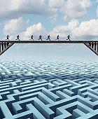 Corporate Success Concept