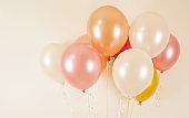 Event balloons, balloon background