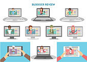 Video bloggers set