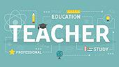 Teacher concept illustration