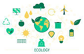 Ecology and recycle concept