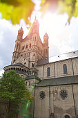 Ancient temple in Cologne, Germany