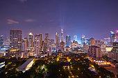 Bangkok night scene
