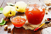 Fresh quince jam