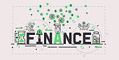 Money vector investment savings financial bank money-box backdro