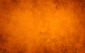 Orange autumn background, old watercolor paper texture, painted marbled vintage grunge illustration for halloween and fall