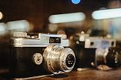 Vintage and old film camera