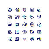 Food Delivery Icons