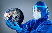 Protecting world from pandemic Coronavirus COVID 19 novel corona outbreak
