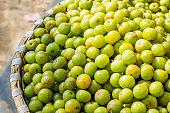 Fresh gooseberry or amala