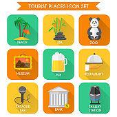 place tourism icon