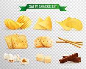 salty snacks transparent