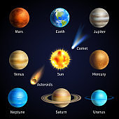 realistic space objects