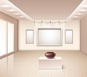 exibition gallery interior