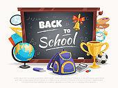 school poster background