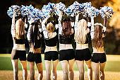 Cheer Line Cheerleader Girls