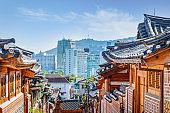 Bukchon Hanok Village Seoul South Korea Historic Neighborhood