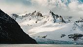 South Georgia Royal Bay Glacier Panorama Antarctica