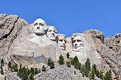 Mt Rushmore National Monument, South Dakota, USA