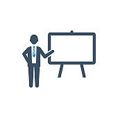 presentation planing icon