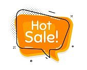 Hot Sale. Special offer price sign. Vector