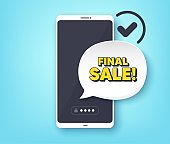 Final Sale. Special offer price sign. Vector