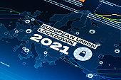 European Union Lockdown 2021 Global Pandemic Background
