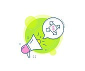 Payment exchange line icon. Dollar sign. Vector