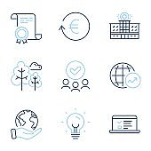 Exchange currency, Energy and Hospital building icons set. Web lectures, World statistics and Tree signs. Vector