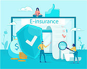 Electronic Insurance Service on Digital Devices