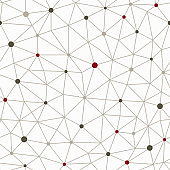 technology lines seamless pattern