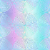 Holographic circle pattern