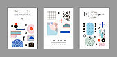 Graphic templates of cards