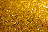 Golden glitter christmas shiny abstract background overlay