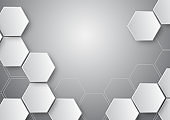 pattern hexagon background abstract