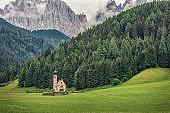 Landscape in the italian Dolomites