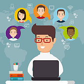 community social media people