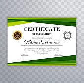 premium multipurpose business certificate template design in modern geometric style