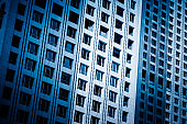"Close-Up of Modern Office Buildings in city of China""n"