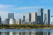 Waterfront skyline