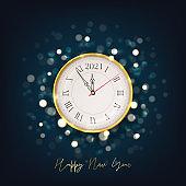 2021 Happy New Year holiday card